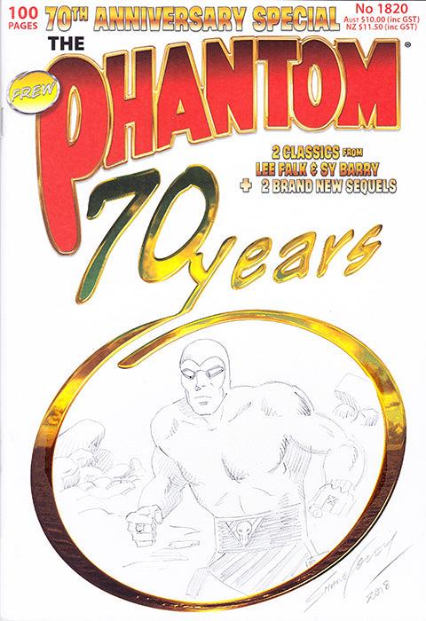 70th anniversary Sketch cover, Shane Foley 4