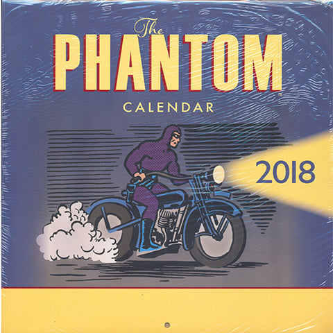 The Phantom Calendar 2018