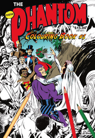 Phantom Colouring Book No 1