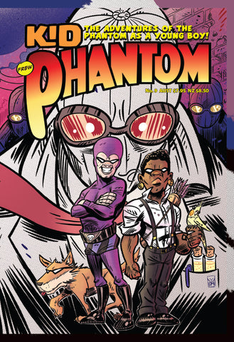 Kid Phantom Issue No 9, 2020 + Phantom's Universe Card #22 Matthew Kennedy