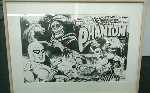 Original Cover drawing of Keith Chatto
