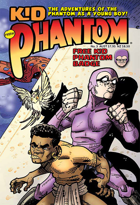 Kid Phantom Issue No 3, 2018 + Phantom's Universe card #11 Kid Phantom
