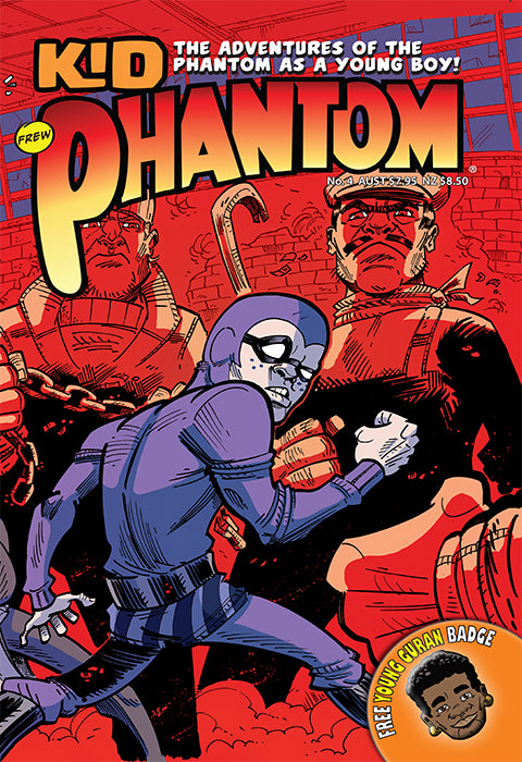 Kid Phantom Issue No 4, 2018 + Phantom's Universe card #14 Young Guran