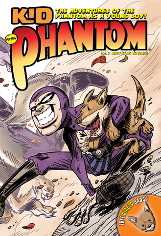 Kid Phantom Issue No 7, 2019 + Phantom's Universe card #18 Le Comte
