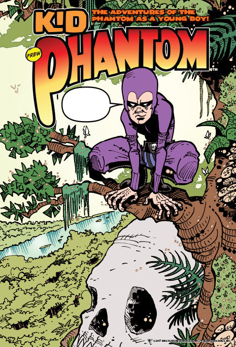 Kid Phantom  #1 - Poster