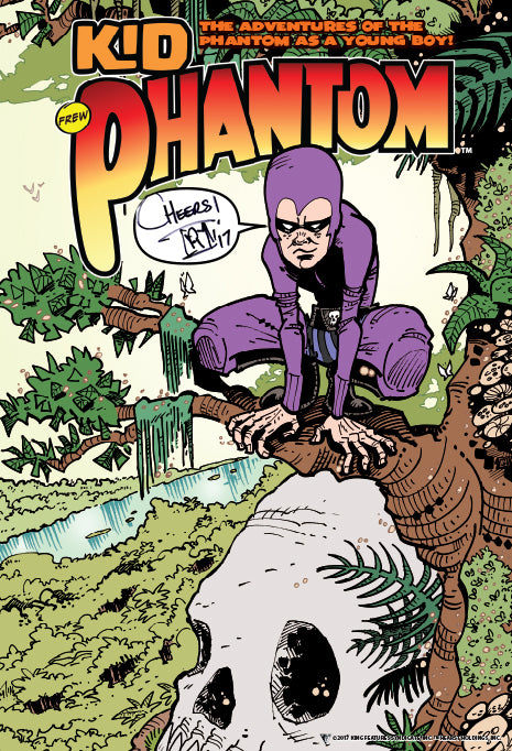 Kid Phantom  #1 - Poster signed