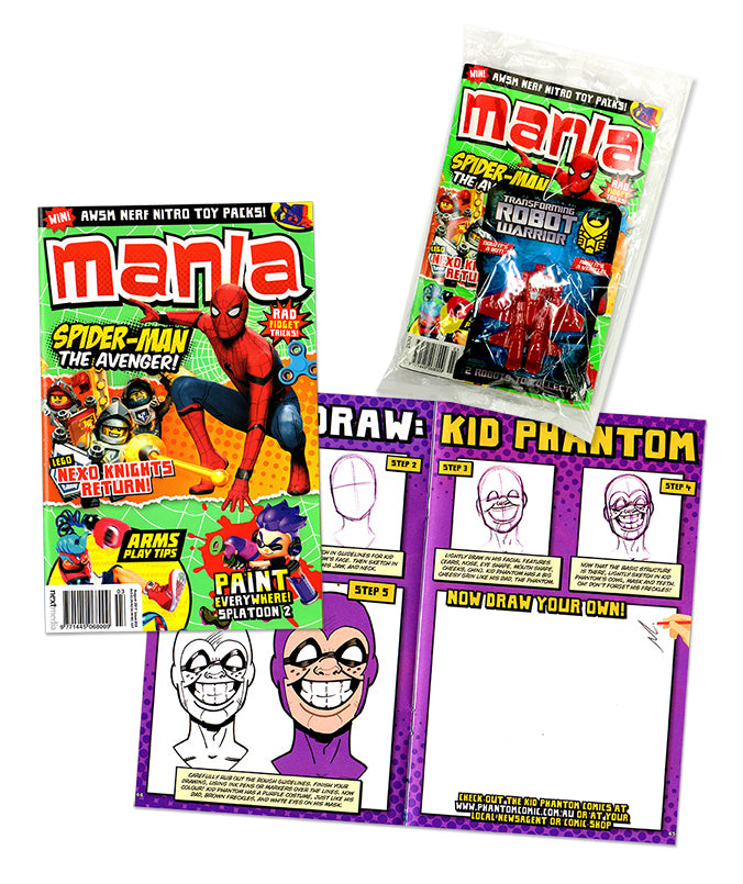 Mania Magazine (How to draw Kid Phantom)