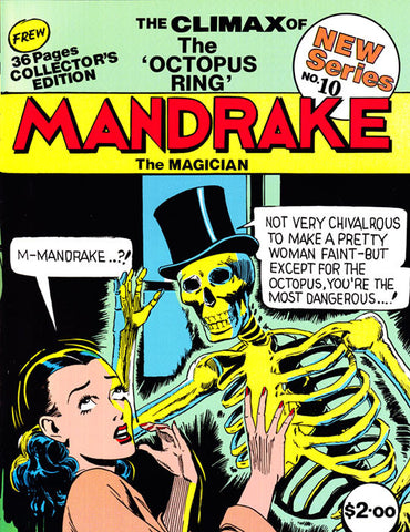 Issue 10 - Mandrake, 1991 (last 3 issues)