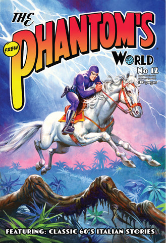 Issue Phantom's World Special No 12, 2020 + Phantom's Universe card #71 Orkhan