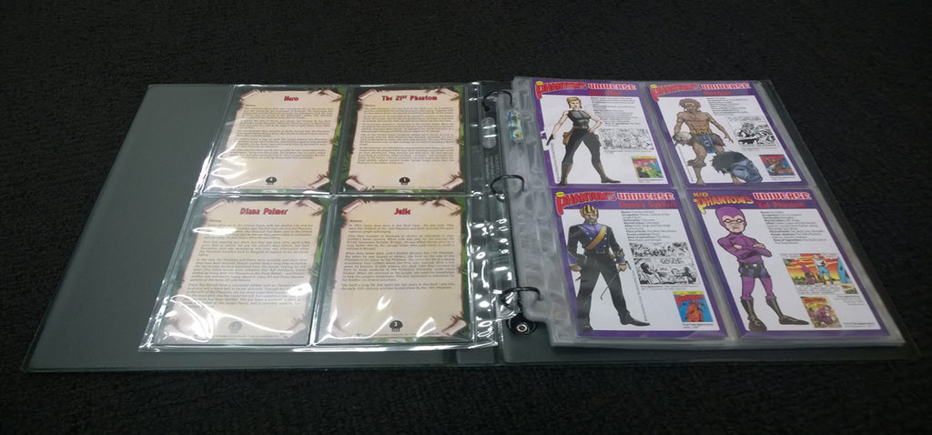 10 Sleeves for the Phantom's Universe Collector's Binder