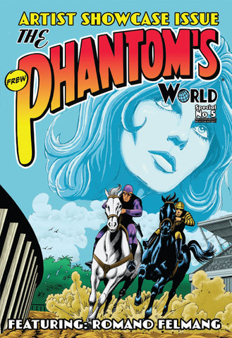 Issue Phantom's World Special No 5, 2018 + Phantom's Universe card #7 Redbeard
