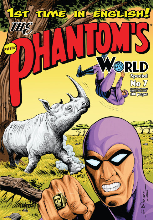 Issue Phantom's World Special No 7, 2018 + Phantom's Universe card #12 Princess Sin