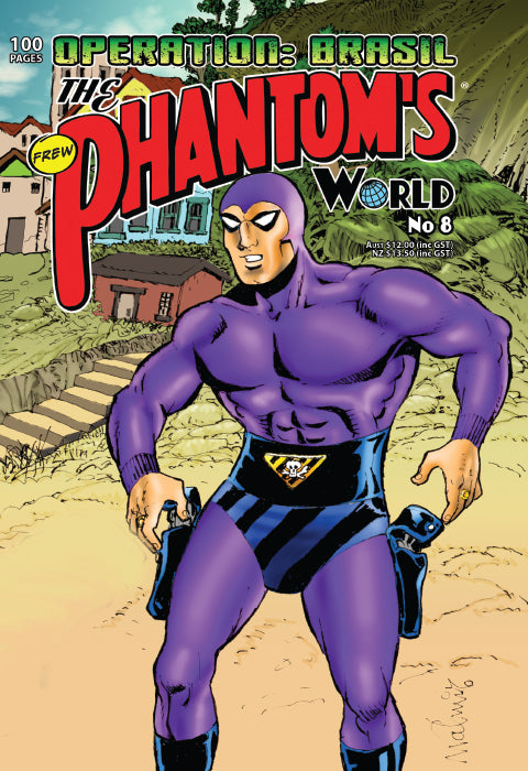 Issue Phantom's World Special No 8, 2019 + Phantom's Universe card #15 Joonkar