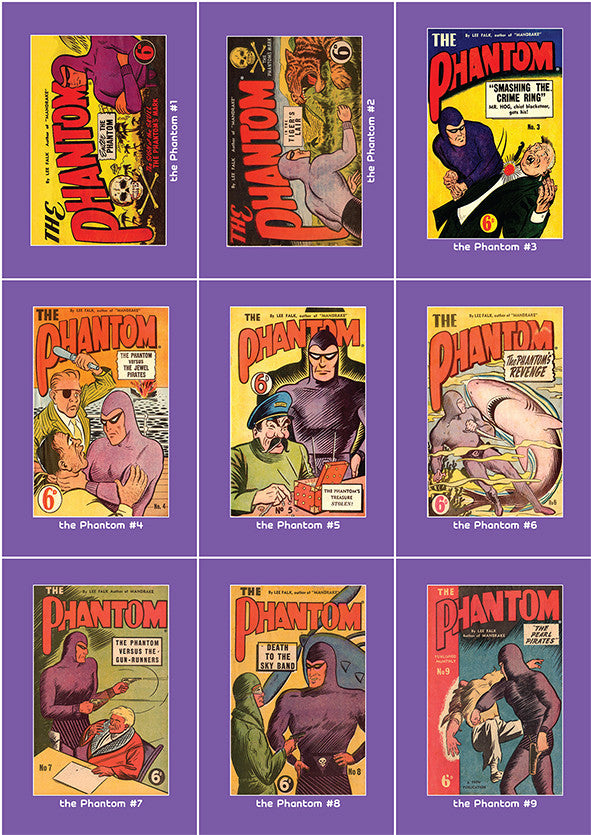 Phantom Philecard #1-9