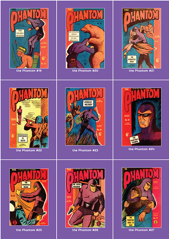 Phantom Philecard #19-27