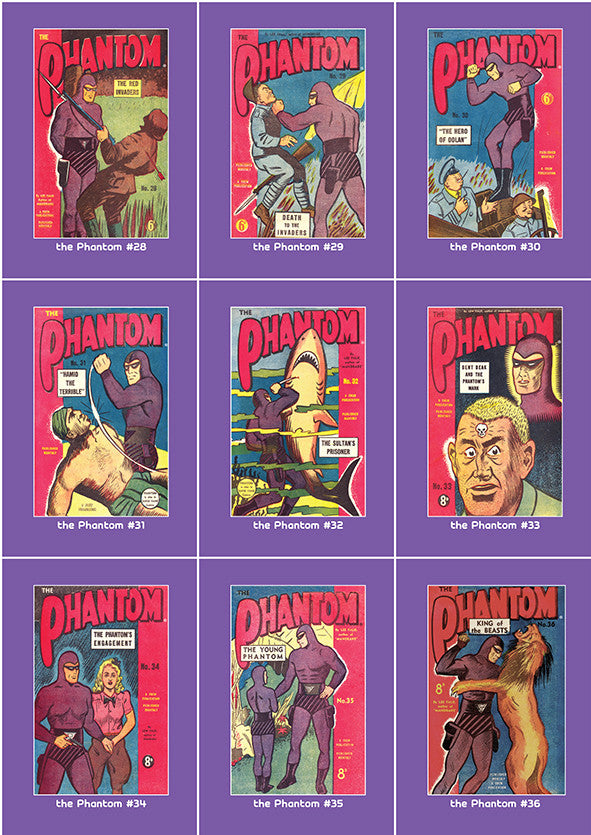 Phantom Philecard #28-36