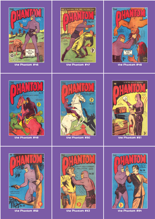 Phantom Philecard #46-54