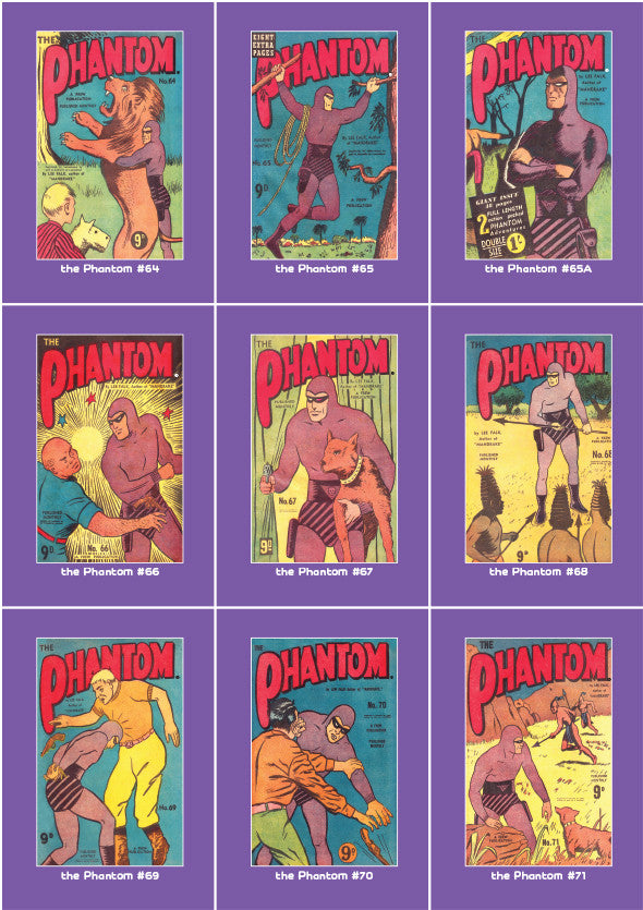 Phantom Philecard #64-71