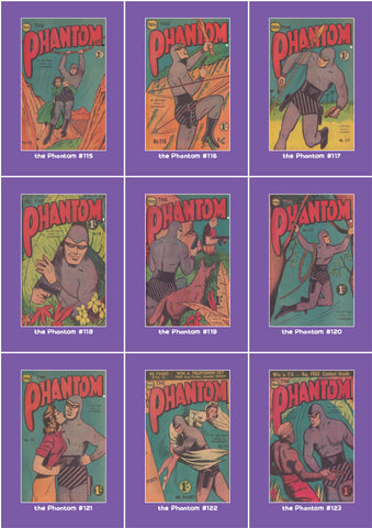 Phantom Philecard #115-123