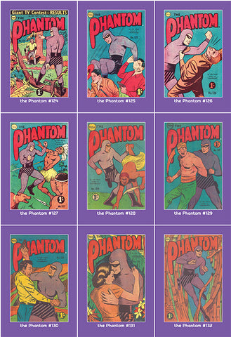 Phantom Philecard #124-132