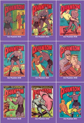 Phantom Philecard #133-141