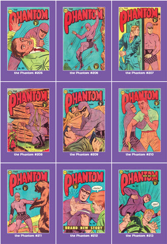 Phantom Philecard #205-213