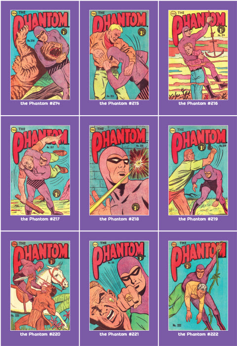 Phantom Philecard #214-222