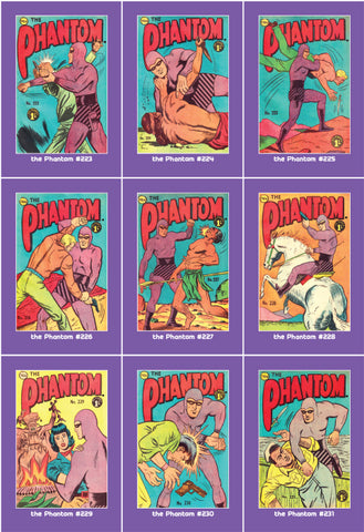 Phantom Philecard #223-231