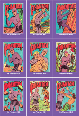 Phantom Philecard #232-240