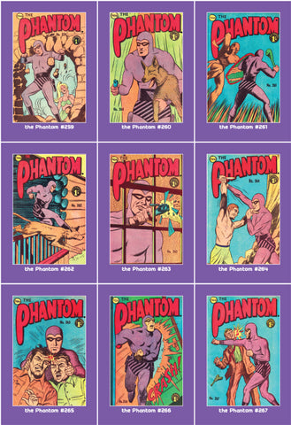 Phantom Philecard #259-267
