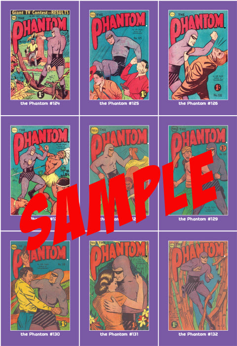 Phantom Philecard #956-963