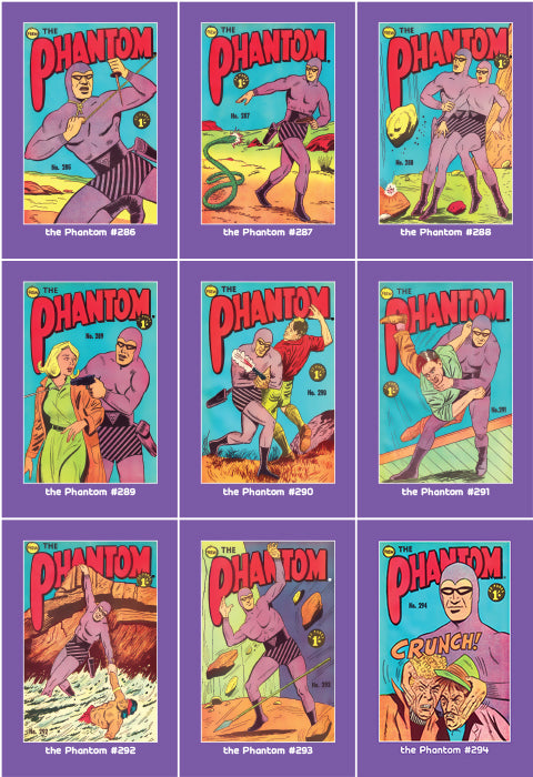 Phantom Philecard #286-294