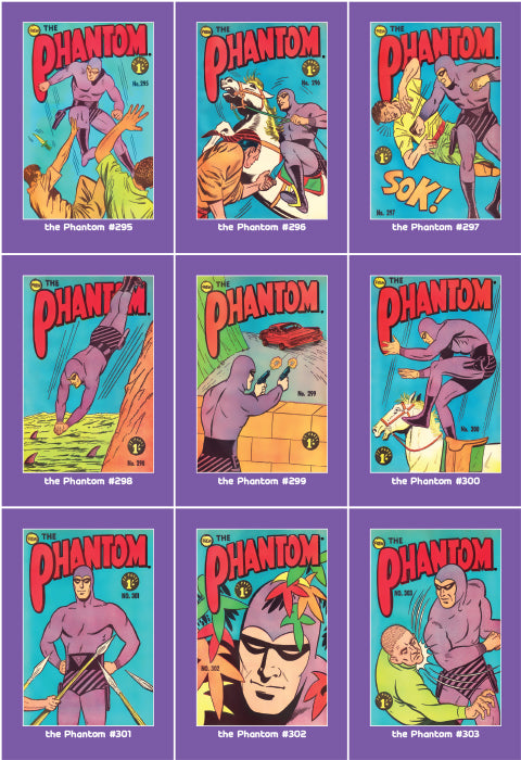 Phantom Philecard #295-303