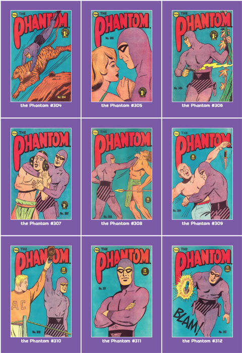 Phantom Philecard #304-312