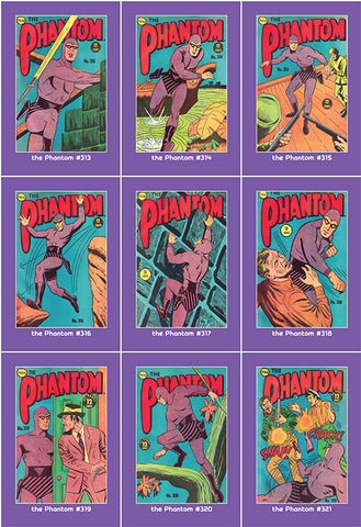 Phantom Philecard #313-321