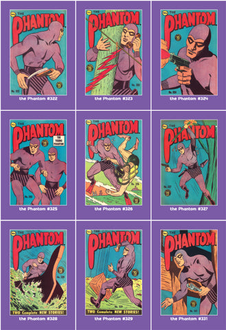 Phantom Philecard #322-331