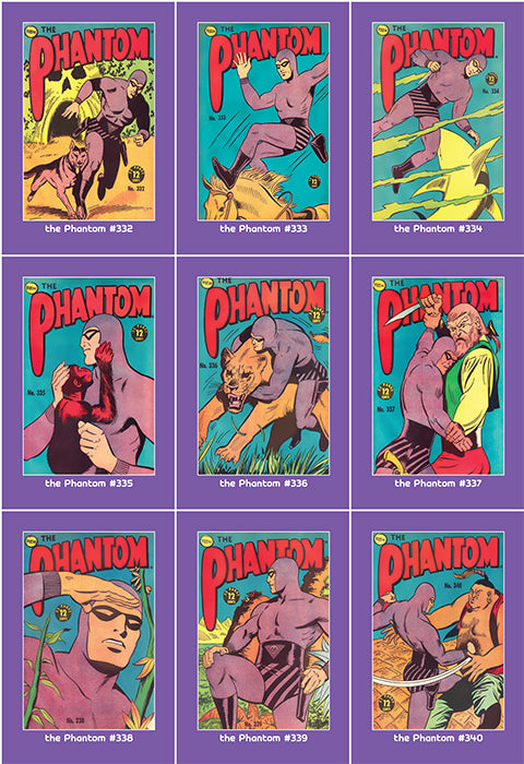 Phantom Philecard #332-340