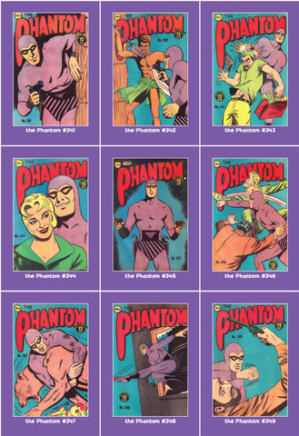 Phantom Philecard #341-349