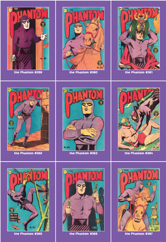 Phantom Philecard #359-367