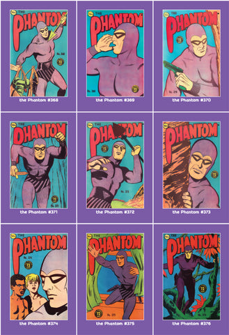 Phantom Philecard #368-376