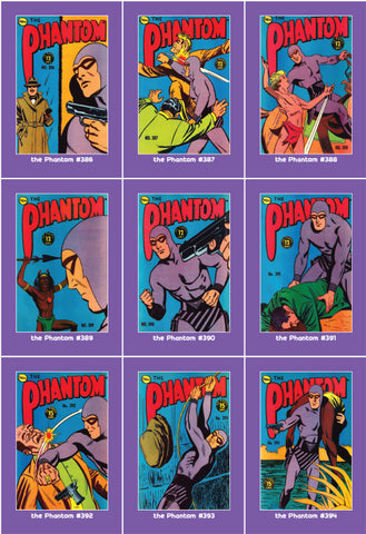 Phantom Philecard #386-394