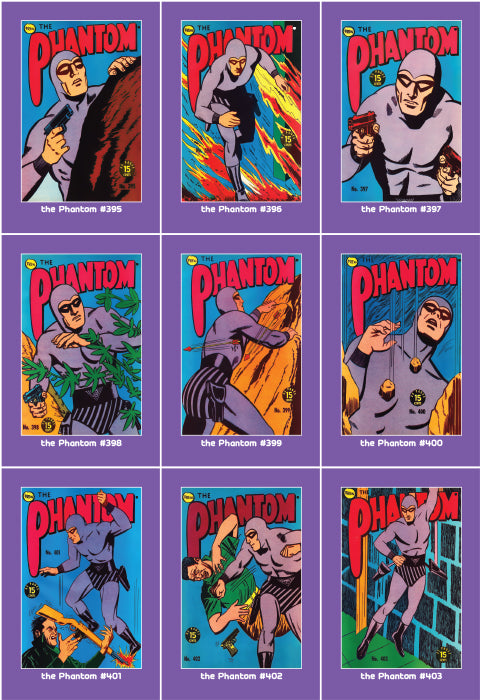 Phantom Philecard #395-403