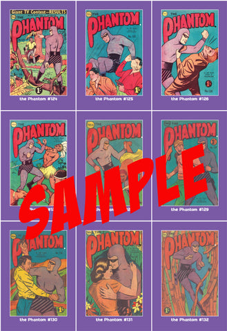 Phantom Philecard #888-895