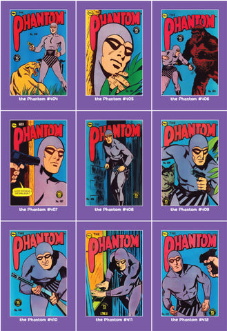 Phantom Philecard #404-412