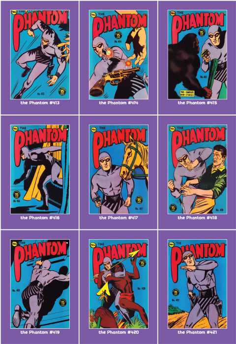 Phantom Philecard #413-421