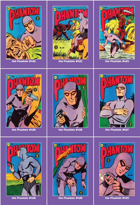 Phantom Philecard #422-430