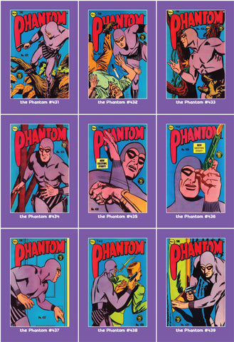 Phantom Philecard #431-439