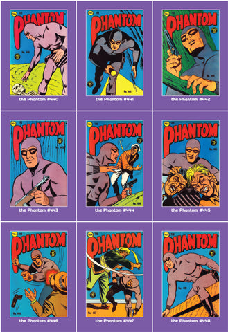 Phantom Philecard #440-448