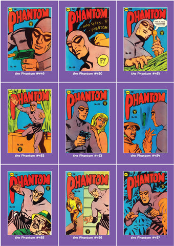 Phantom Philecard #449-457