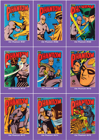 Phantom Philecard #467-475